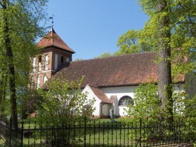 Krutynia – Kościół Ewangelicko-Augsburski w Sorkwitach